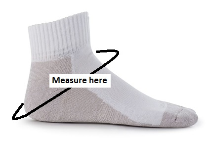 How to take an Ankle Guard Measurement