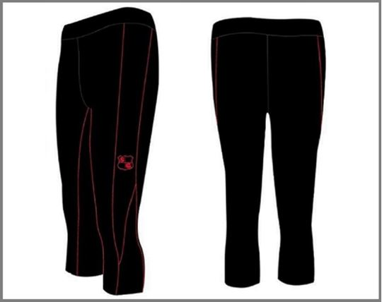 Picture of Custom Compression - 3/4 Length Pants