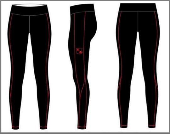 Picture of Custom Compression - Full Length Pants