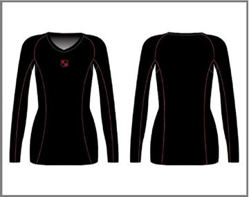 Picture of Custom Compression - Long Sleeve Top