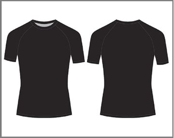 Picture of Custom Compression - Short Sleeve Top