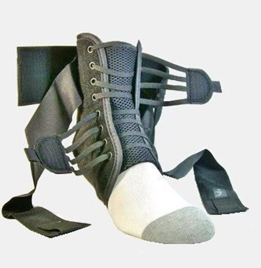Picture of Ankle Guards - Quick Lace up (Pair) with Carry Bag